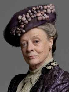 I mean, really, who DOESN'T want to be the Dowager Countess?